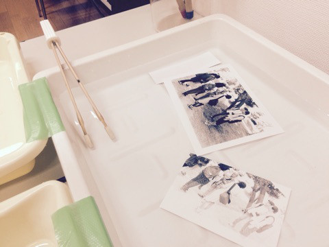 林 直先生の「暗室でモノクロフィルム写真のプリント体験しよう♪」