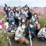 *開催レポート*おとなの遠足写真部pic10月「近江鉄道で行く野田町コスモス畑♪」